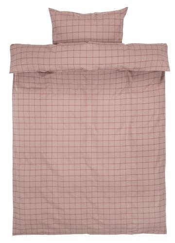 Set posteljine TANJA 140x200 oboj. niti