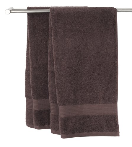 Полотенце KARLSTAD 70x140 см коричневый