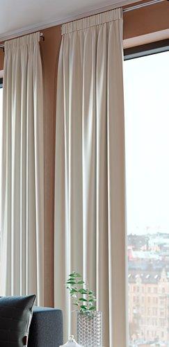 Cortina AUSTRA 1x140x300 terciopelo aren