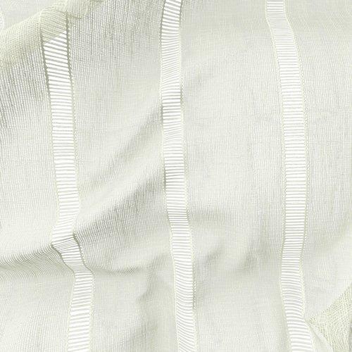 Zavjesa RIEN 1x140x300 sivobijela