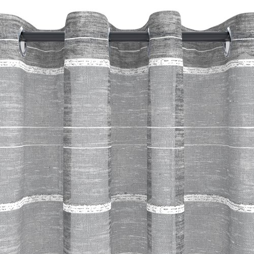 Завеса SEKKEN 1x140x300 см сива