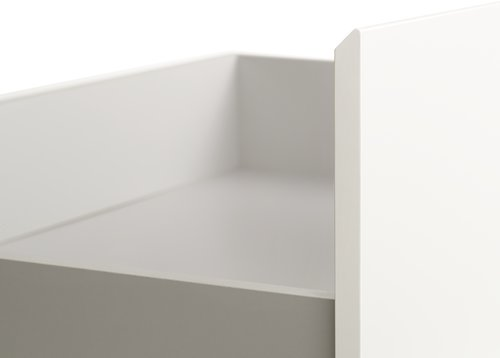 Рамка за легло TRANBJERG 90/180x200 бяла