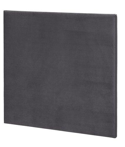 Sänggavel 120x115 H10 PLAIN grå-34