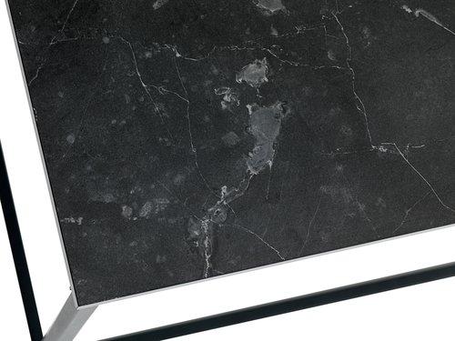 Klubska mizica TROSTERUD 50x100 marmor