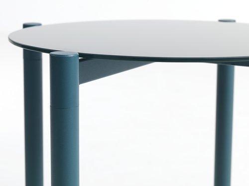 Table gigogne ULSTEINVIK Ø46 bleu
