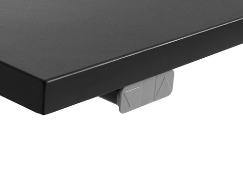 Nastavljiva miza SLANGERUP 80x160 črna