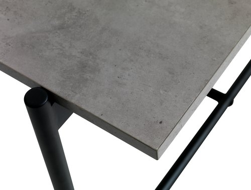 Étkezőasztal TERSLEV 80x140 beton szürke