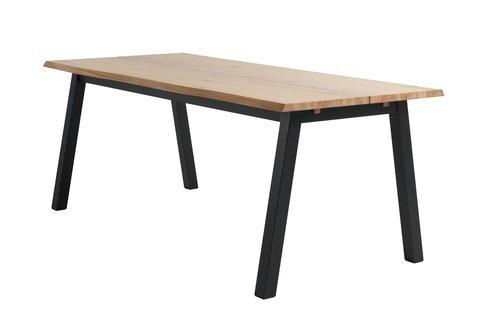 Jídelní stůl SKOVLUNDE 90x200 sv. dub