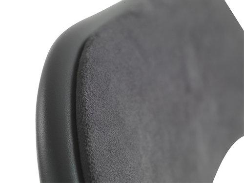 Klappstol VIG sammet mörkgrå