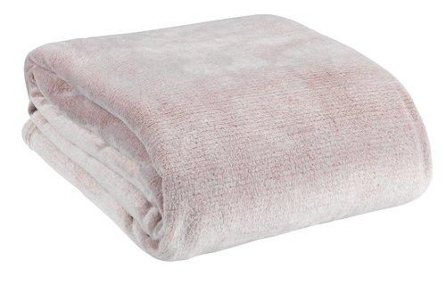 Плед KRATTFIOL фланель 200x220 рожевий