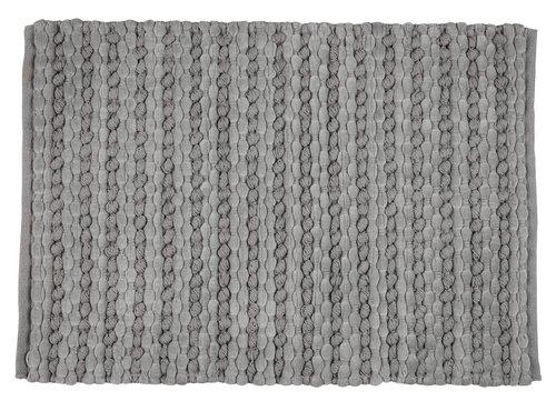 Alfombrilla baño EDANE 60x90 gris