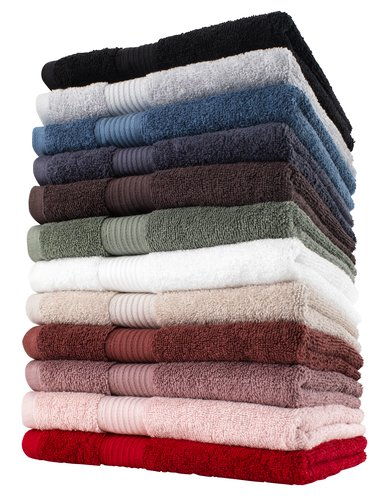 Bath towel KARLSTAD red