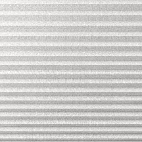 Plisségardin HVEN 140x130cm hvid