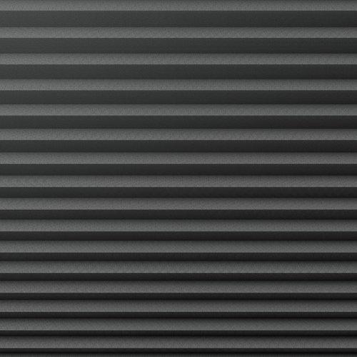 Plisségardin lystett HVEN 140x130 grå
