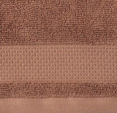 Brisača NORA 40x60 cm sv. rjava