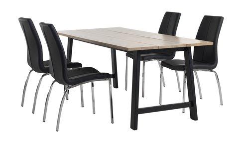 Комплект меблів GADESKOV + HAVNDAL чор.