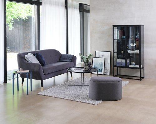 Tæppe RABBESIV 160x230 grå