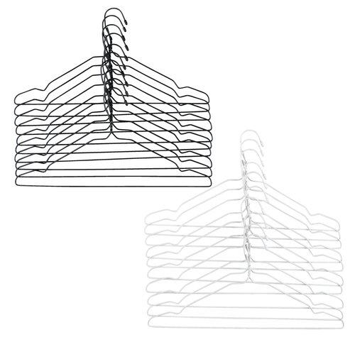Κρεμάστρες TONNI σύρμα 10τμχ/πκ διάφ.