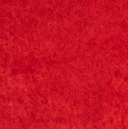 Nervøs fløyel GNIST 3 m/pk rød