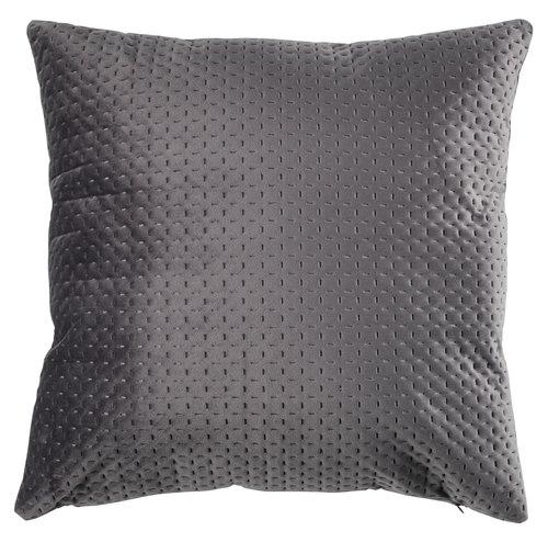 Pyntepude HIBISCUS 45x45 grå