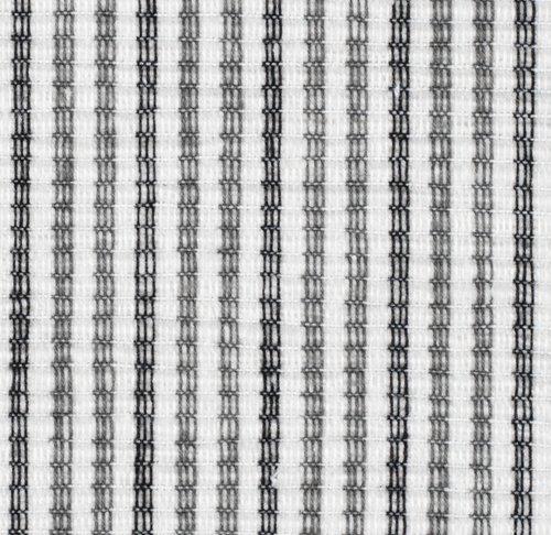 Spisebrikke HVITROT 33x42 hvit/grå
