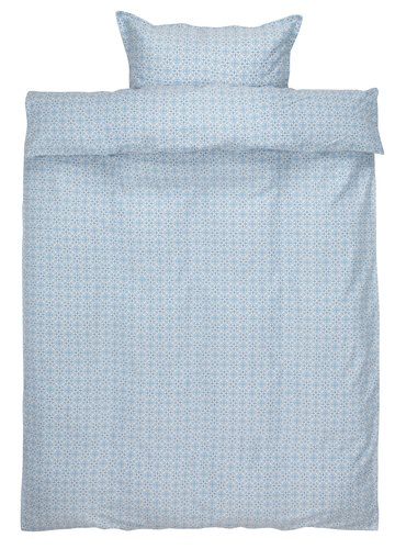 Påslakanset TINA Satin 150x210 blå