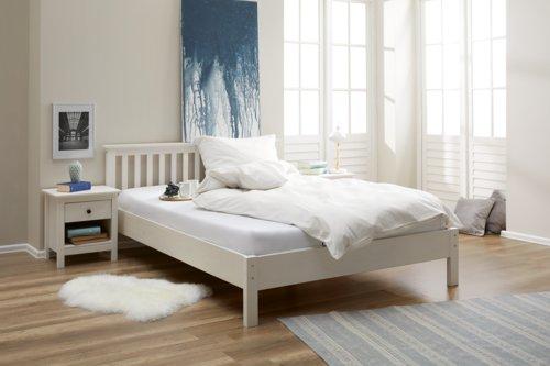 Nachttisch LUIS 1 Schublade weiß