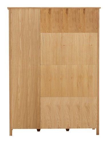 Armoire NEW OAK 139x190 naturel/chêne