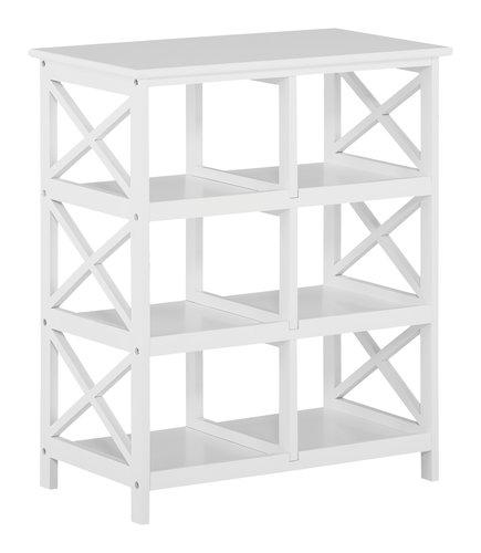 Estantería DINA 6 estantes blanco