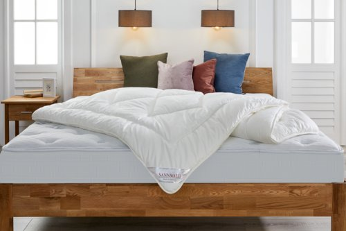Decke 2x600g SANNWALD VITAL 140x200