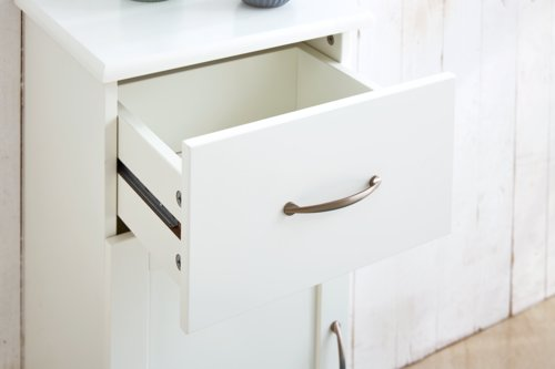 Mobiletto bagno SKALS 35x78 bianco