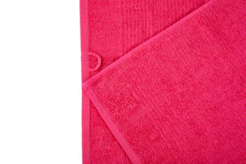 Toalla de mano LIFESTYLE rosa oscuro