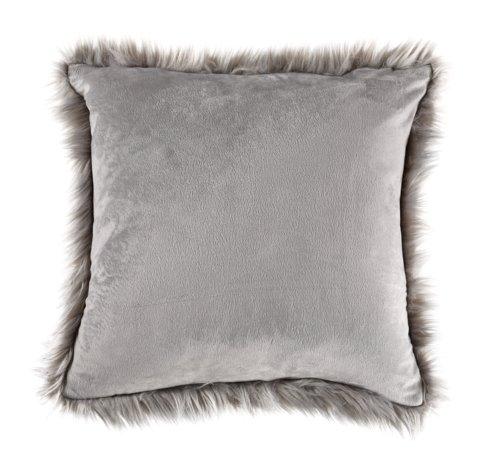 Cuscino TAKS 45x45 pelliccia eco. grigio