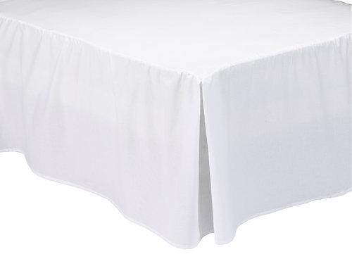 Kappelagen 180x200x45cm hvid