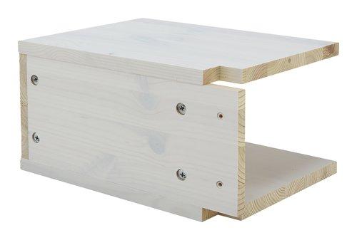 Nachttisch LYNGBY 2 Stück weiß