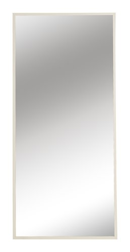 Miroir SOMMERSTED 68x152 blanc