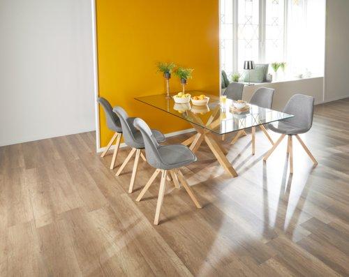 Table SASKIA 100x200 chêne huilé