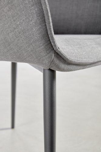 Esszimmerstuhl SABRO schwarz/grau