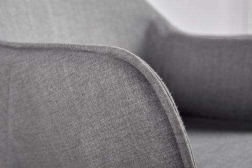 Sedia SABRO nero/grigio
