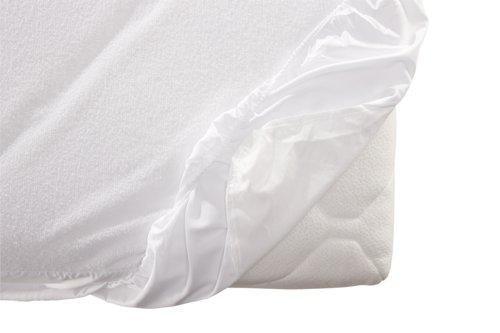 Sábana ajust imperm 150x190x20cm blanco