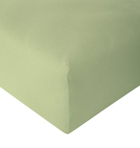 Drap jersey 140x200x30cm vert clair
