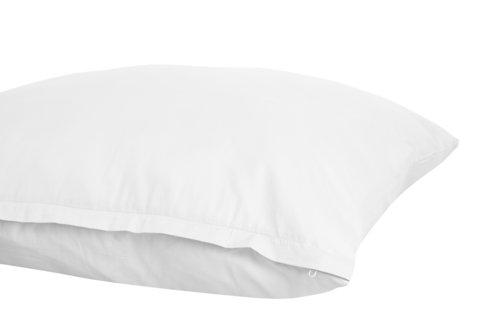Taie d'oreiller 40x80 blanc