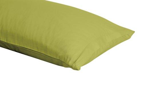 Kissenbezug Satin 40x80 hellgrün