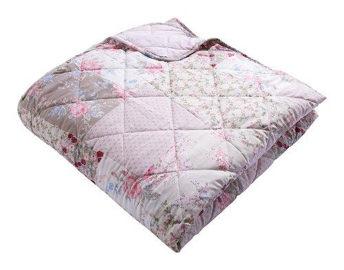 Tagesdecke MATHILDA 220x220 rosa