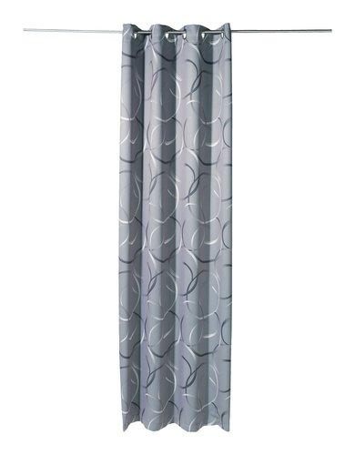 Rideau occultant KREISE 1x135x245cm gris