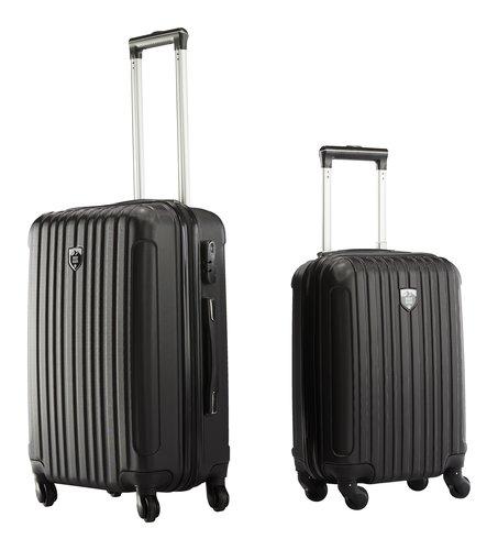 Koffer FIRST CLASS 2 Stk/Set schwarz
