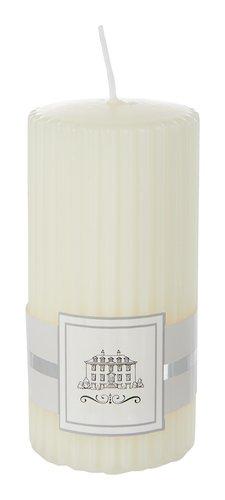 Stumpenkerze EIVIN Ø6xH12cm beige