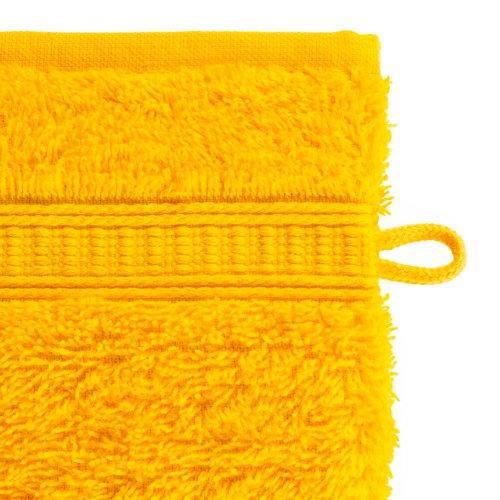 Waschhandschuh KRONBORG DE LUXE gelb
