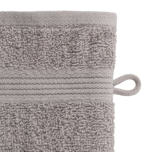 Waschhandschuh KRONBORG CLASSIC grau