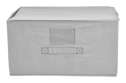 Caixa arrumação JAKOB L23xC43xA33cm cinz